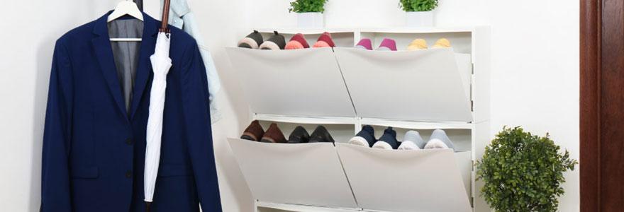 Choisir un meuble de rangement de chaussures